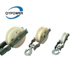 Single Sheave Stringing Nylon Pulley for Earth Wire
