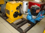 5 ton capacity diesel powered winch