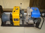 Gasoline powered winch(YAMAHA petrol engine)