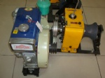 Small volume diesel engine power winch 3 Ton