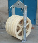 Stringing Equipment Conductor pulley wheels