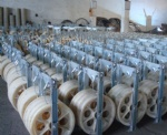 Electric Power Line Conductor Pulleys