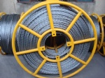 Galvanized steel anti-twisting braided steel wire