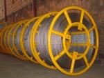 Corrosion rust-proof anti twist steel rope