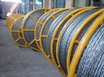 Anti twist galvanized steel wire rope